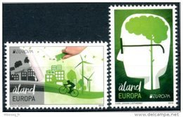 "Europa 2016 ""Think Green"" - Aland ** - Europa-CEPT"
