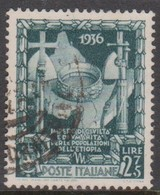 Italy S 447 1938 Proclamation Of The Empire,lire 2,75 Slate Green, Used - 1900-44 Vittorio Emanuele III