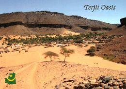 1 AK Mauretanien * Ansicht Der Oase Terjit * - Mauritania