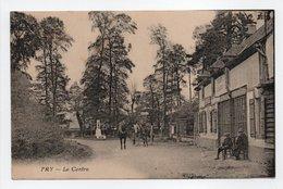 - CPA FRY (76) - Le Centre 1933 (EPICERIE-TABAC-MERCERIE) - Photo Desaix - - France