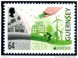 "Europa 2016 ""Think Green"" - Guernsey Guernesey ** - Europa-CEPT"