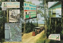 17 Ile D'Oléron Saint Trojan Le P'tit Train Touristique (2 Scans) - Ile D'Oléron