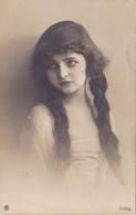 1197/ Fantasie, Kind Met Lang Haar, Vlechten, 1924 - Women