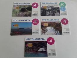 GREECE - 5 Nice Phonecards - Greece