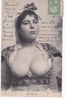 Belle Mauresque -  Femme Seins Nus - 1908 - Nus Adultes (< 1960)