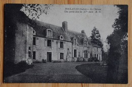 36 : Poulaines - Le Château - Une Partie Date Du XVe Siècle - (n°15264) - Autres Communes