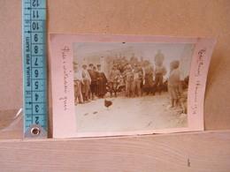 MONDOSORPRESA,  FOTOGRAFIA, RODI (FANES) PRETE E CONTADINI GRECI, 1914 - Guerra, Militari