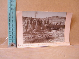 MONDOSORPRESA,  FOTOGRAFIA, RODI DURANTE L' ESTRAZIONE DEI PREMI PER LA LOTTERIA PER I SOLDATI, 1918 - Guerra, Militari