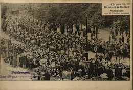 Circus // Barnum & Bailey Prunkwagen Card No 950 // Ca 1900 - Circus