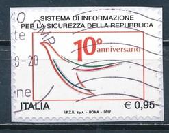 °°° ITALIA 2017 - SISTEMA DI INFORMAZIONE PER LA SICUREZZA °°° - 6. 1946-.. Repubblica