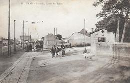 Algérie )  ORAN   -  Eckmühl  L' Arrêt Des Trams - Oran