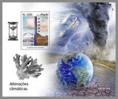ANGOLA 2019 MNH Climate Change Klimawandel Changement Climatique S/S - OFFICIAL ISSUE - DH1927 - Umweltschutz Und Klima