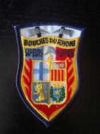 Ecusson Tissu Sapeurs Pompiers Des Bouches Du Rhône - Pompiers