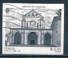 °°° ITALIA 2017 - ABBAZIA DI CASAMARI °°° - 6. 1946-.. Repubblica