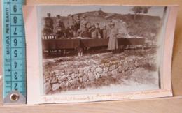 MONDOSORPRESA,  FOTOGRAFIA, RODI, DURANTE L' ESTRAZIONE DEI PREMI DELLA LOTTERIA, 1918 - Guerra, Militari