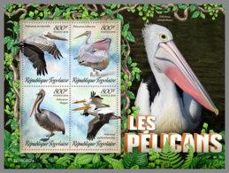TOGO 2019 MNH Pelicans Pelikane M/S - OFFICIAL ISSUE - DH1927 - Pélicans
