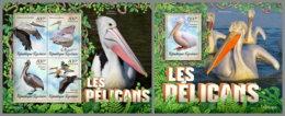 TOGO 2019 MNH Pelicans Pelikane M/S+S/S - OFFICIAL ISSUE - DH1927 - Pélicans