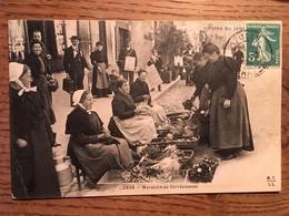 CPA, TYPES DU CENTRE MARAICHERES CORREZIENNES, Corrèze, 19, écrite En 1908, Timbre - France