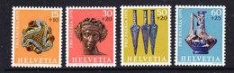 Switzerland 1975 Pro Patria 4v ** Mnh (43500) - Pro Patria