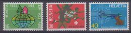 Switzerland 1974 Commemoratives 3v ** Mnh (43503) - Zwitserland