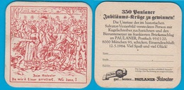 Paulaner Brauerei Gruppe München ( Bd 2322 ) - Bierdeckel