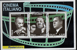 PIA - ITALIA - 2010 : Il Cinema Italiano  - (Yv Bf 65) - Hojas Bloque