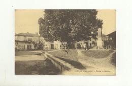17 CPA A - Chérac - Place De L'Eglise - Autres Communes