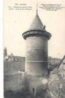 254. ROUEN . MUSEE DE JEANNE D'ARC + LONG HIST SUR RECTO . CARTE NON ECRITE - Rouen