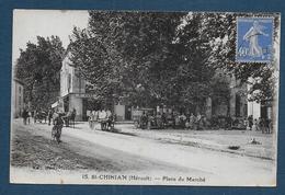 ST CHINIAN - Place Du Marché - Altri Comuni