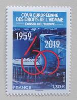 Frankrijk-France  2019 European Court Human Right - Europese Gedachte