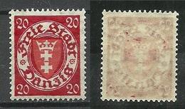 Germany Danzig 1924 Michel 196 MNH - Danzig