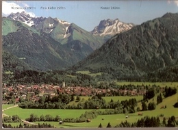 Germany & Circulated, Greetings From Oberstdorf,  843m  Allgäu, Warstein 1993 (4433) - Oberstdorf