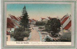 CPA - Environs De WOLFSKIRCHEN (67) - EYWILLER - Aspect De L'entrée Du Bourg En 1918 - Carte Colorisée - Autres Communes