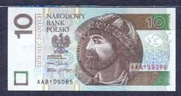 Poland  - 2016 - 10  Zlotych....P183b. UNC.. - Pologne