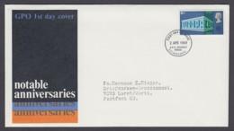 Europa CEPT - FDC 1969 - Grossbritannien Great Britain - MiNr. 512 (B) - Europa-CEPT
