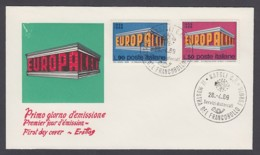 Europa CEPT - FDC 1969 - Italien Italy - MiNr. 1295-1296 (B) - Europa-CEPT