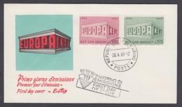 Europa CEPT - FDC 1969 - San Marino - MiNr. 925-926 (B) - Europa-CEPT