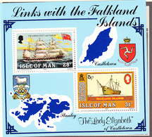 Isle Of Man 1984  Links With The Falkland Islands M/s ** Mnh (43505I) - Man (Eiland)