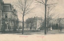 CPA - Pays-Bas -  Groningen - Heeresingel - Groningen