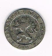 //  LEOPOLD I   5 CENTIEM   1898 VL - 03. 5 Centimes