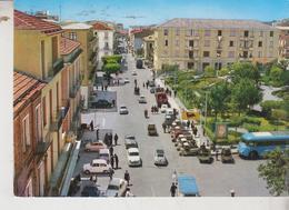 NICASTRO LAMETIA TERME  VIA CAPITANO MANFREDI + AUTO + BENZINE DISTRIBUTORE AGIP BUS - Lamezia Terme
