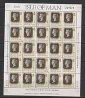 Isle Of Man 1990 Penny Black 1v Sheetlet **  Mnh (F7868) - Man (Eiland)