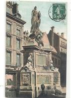 ROUEN . FONTAINE DE JEANNE D'ARC . CARTE COLORISEE AFFR SUR RECTO - Rouen