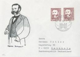 Segelboot Dunant Gaulle Brügge Vögel Schifahrer Buchdruck Prinz Eugen Schwarze Hand Tasman Künstlerbriefe Zeichnungen - Stamps