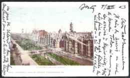 BOSTON Commonwealth Ave Sent 1903 From BOSTON To Belgium - Boston