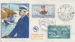 Enveloppe  FDC  1er  Jour   MONACO   Musée   Océanographique   1960 - FDC