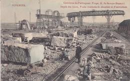 619  Soignies Carrieres Du Perlonjour Depot Des Blocs Ponts Roulants De Chantier Et D Extraction - Soignies