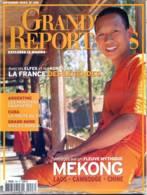 Grands Reportages  N° 248 Mekong Laos Cambodge Chine , Argentine , Cuba , Djibouti , France Legendes Elfes Korrigans - Géographie