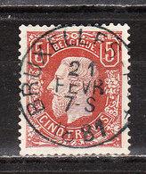 37  Emission De 1869 - LA Bonne Valeur - Oblit. Centrale - Authentique/Faux ? - LOOK!!!! - 1869-1883 Léopold II