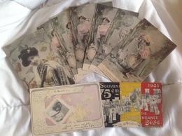 Lot De 9 Cartes Fantaisies - KIL - Ansichtskarten